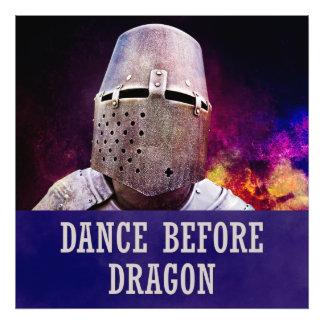 Danza antes del dragón impresiones fotograficas