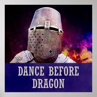 Danza antes del dragón póster