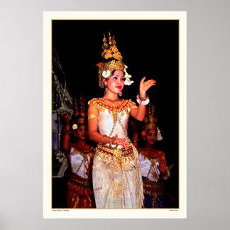 Danza antigua - Camboya Póster