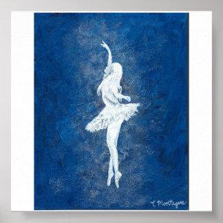 Danza azul póster