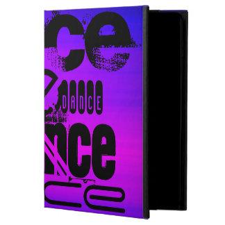 Danza; Azul violeta y magenta vibrantes