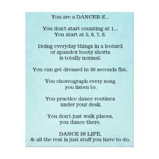 Danza, bailarín, ballet, Hip Hop, jazz, golpecito, Impresión En Lona