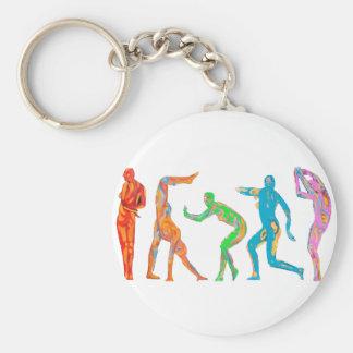 Danza biónica llaveros personalizados