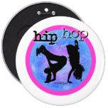 Danza - botón de los chicas de Hip Hop Pin