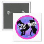 Danza - botón de los chicas de Hip Hop Pins