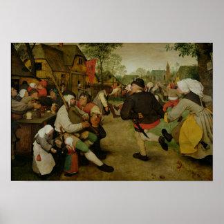 Danza campesina, 1568 póster