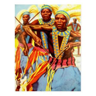 Danza ceremonial postal