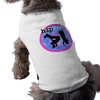 Danza - chicas de Hip Hop - camiseta del perro Camisetas Mascota