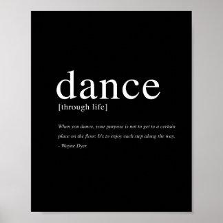 """Danza con la vida - 8"""""""" impresión del arte x10 póster"""
