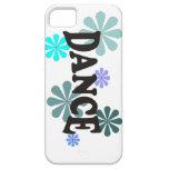 Danza con las flores azules iPhone 5 Case-Mate protectores