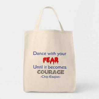 Danza con sus miedos bolsa de mano