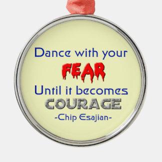 Danza con sus miedos adorno de navidad