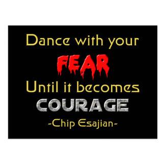 Danza con sus miedos postales