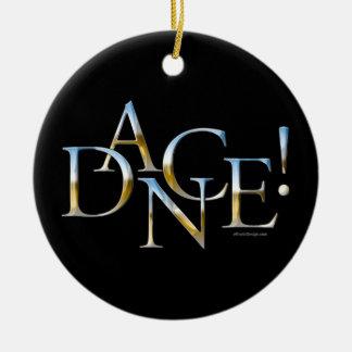 ¡Danza! (Cromo) Ornamentos De Navidad