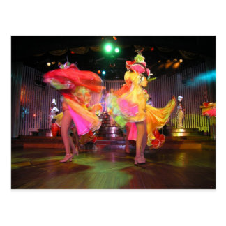 Danza cubana postal