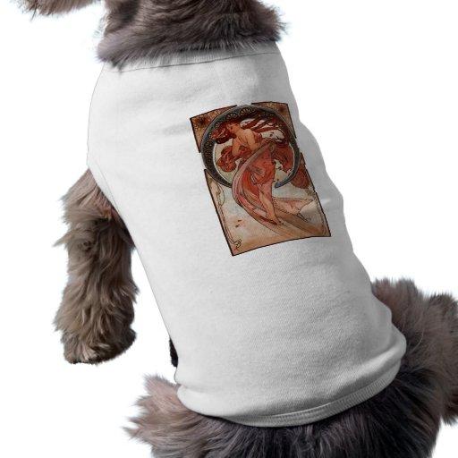 Danza de Alphones Mucha del vintage Ropa De Mascota