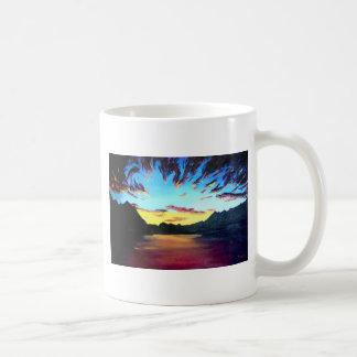 Danza de dioses taza de café