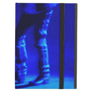 danza de golpecito azul del arte moderno del caso