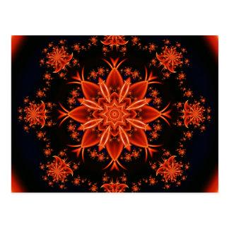 Danza de hadas de la flor postal