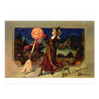 Danza de Halloween Tarjeta Postal