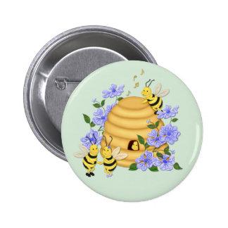 Danza de la abeja pins