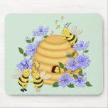 Danza de la abeja tapete de ratones