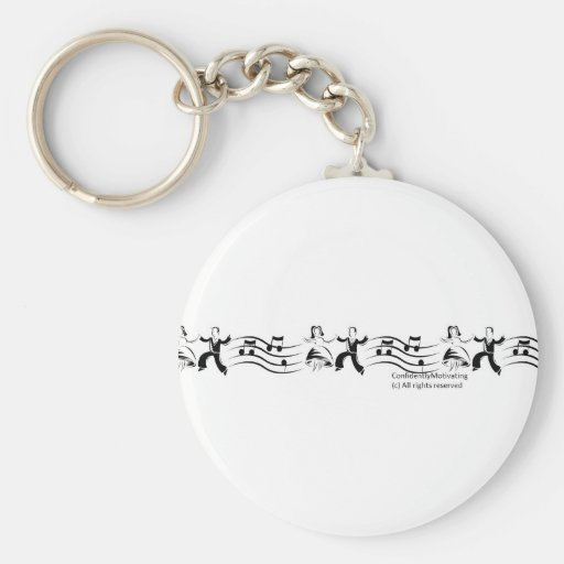 Danza de la alegría llaveros personalizados
