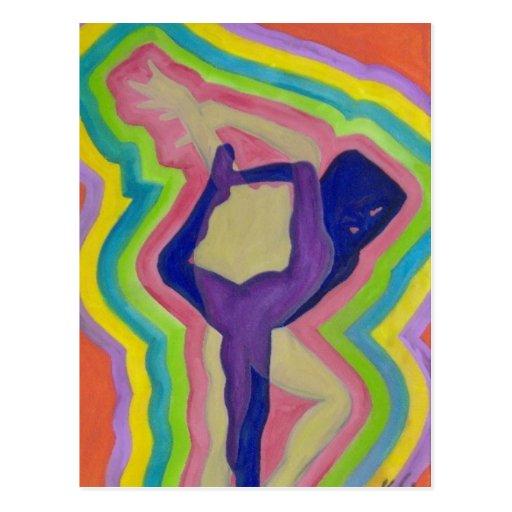 Danza de la alegría postales
