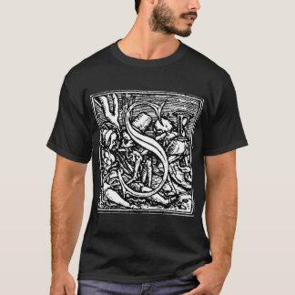 Danza de la camisa de la letra S de muerte
