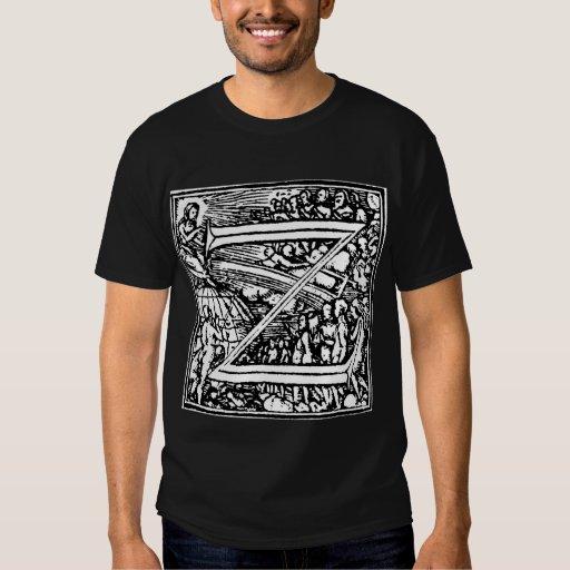Danza de la camisa de la letra Z de muerte