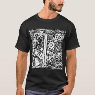Danza de la camiseta de la letra de la muerte