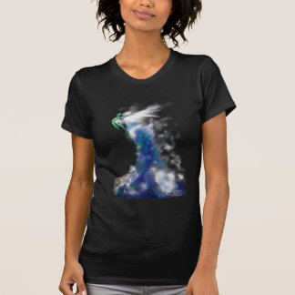 Danza de la camiseta de la sirena del mar