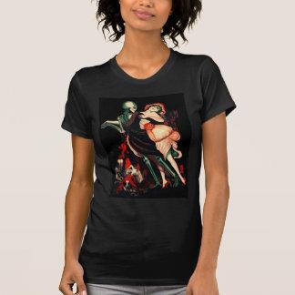 Danza de la camiseta para mujer de la muerte
