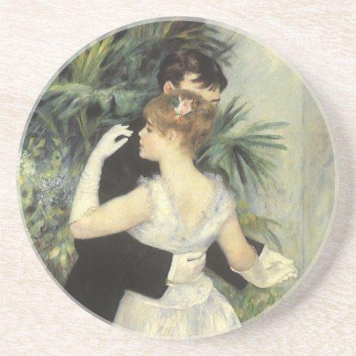 Danza de la ciudad de Pedro Renoir, bella arte del Posavasos Cerveza