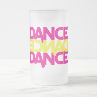 danza de la danza de la danza jarra de cerveza esmerilada