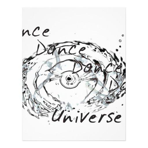 ¡Danza de la danza de la danza! Membrete