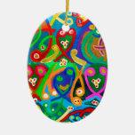 Danza de la ESPERMA - imaginación sensual del arti Ornamentos Para Reyes Magos