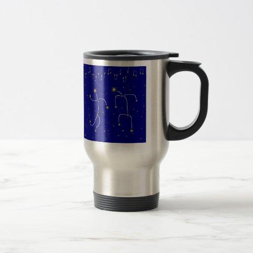 Danza de la estrella tazas de café