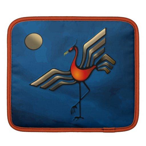 Danza de la grúa funda para iPads