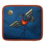 Danza de la grúa fundas para iPads