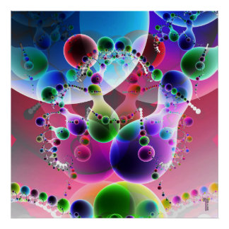 Danza de la impresión del arte de la variación 2 d posters