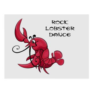 Danza de la langosta de roca tarjetas postales