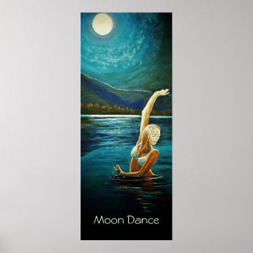 Danza de la luna póster