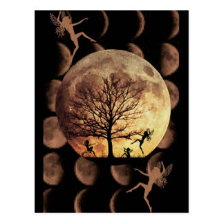Danza de la luna tarjetas postales