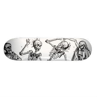 Danza de la muerte de Michael Wolgemut 1493 Skateboard