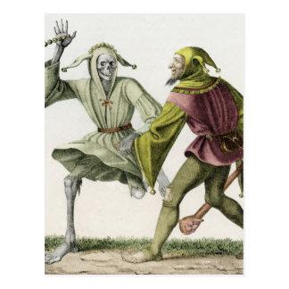 Danza de la muerte - el tonto postales