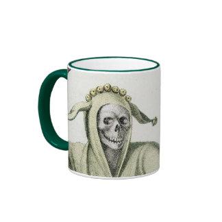 Danza de la muerte - el tonto taza a dos colores