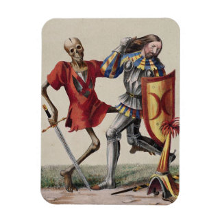 Danza de la muerte en Basilea el | el caballero Imán De Vinilo