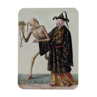 Danza de la muerte en Basilea el | el chino Rectangle Magnet