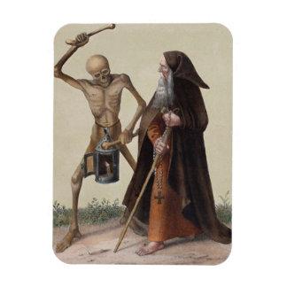 Danza de la muerte en Basilea el | el ermitaño Imanes Flexibles